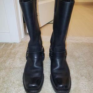 Frye Harness Boots 12R Black